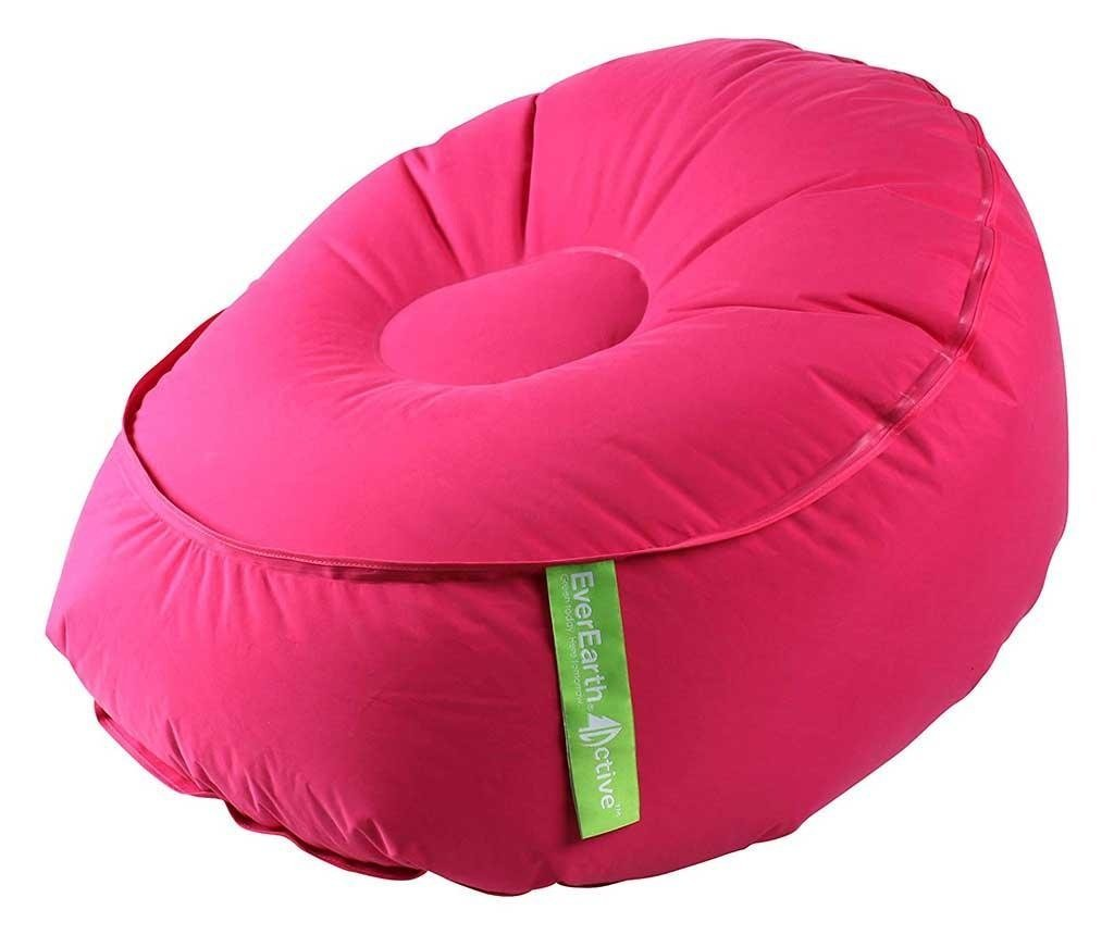 Puf gonflabil Easy Air Pink