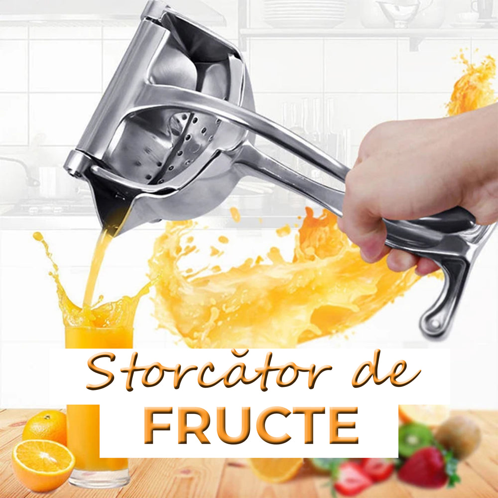 Strocator manual de fructe