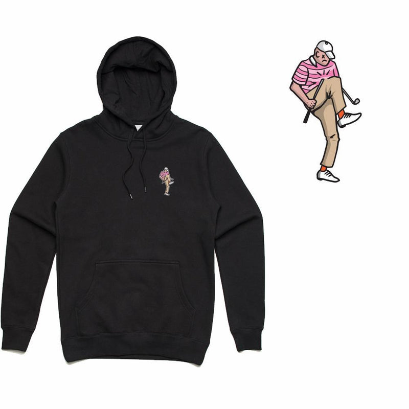 Golf Gods - Angry Golfer Hoodie