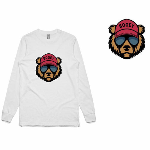 Golf Gods - Bogey Bear Long Sleeve T-Shirt