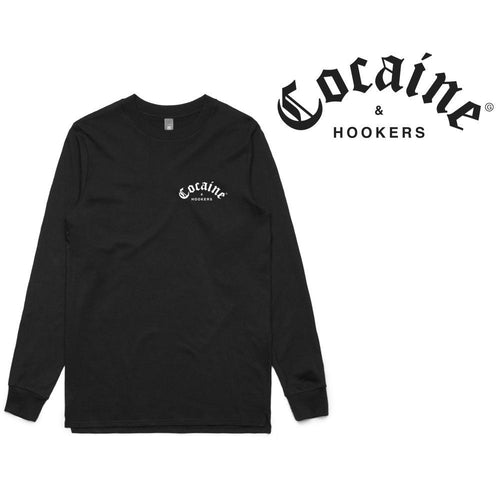 Golf Gods - Cocaine & Hookers Long Sleeve T-Shirt