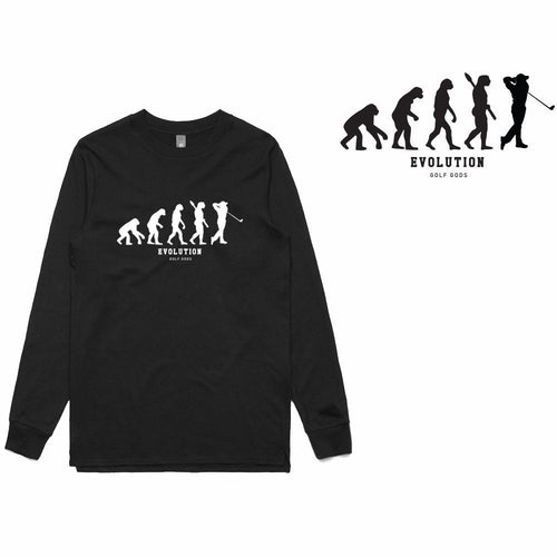 Golf Gods - Evolution Long Sleeve T-Shirt