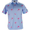 Golf Gods - Flamingo Cool Tech Performance Polo