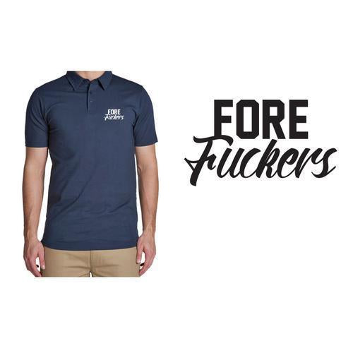 Golf Gods - Performance Polo Fore Fuckers