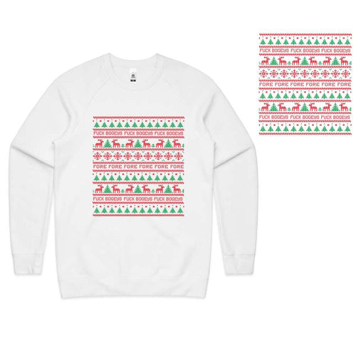 Golf Gods - Fuck Bogeys Ugly Christmas Sweater