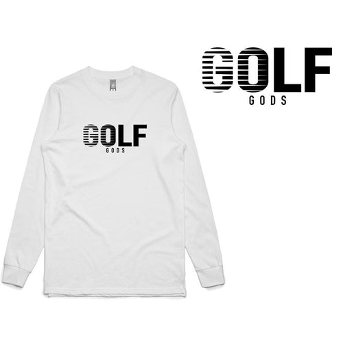 Golf Gods - 'Stripes' Long Sleeve T-Shirt