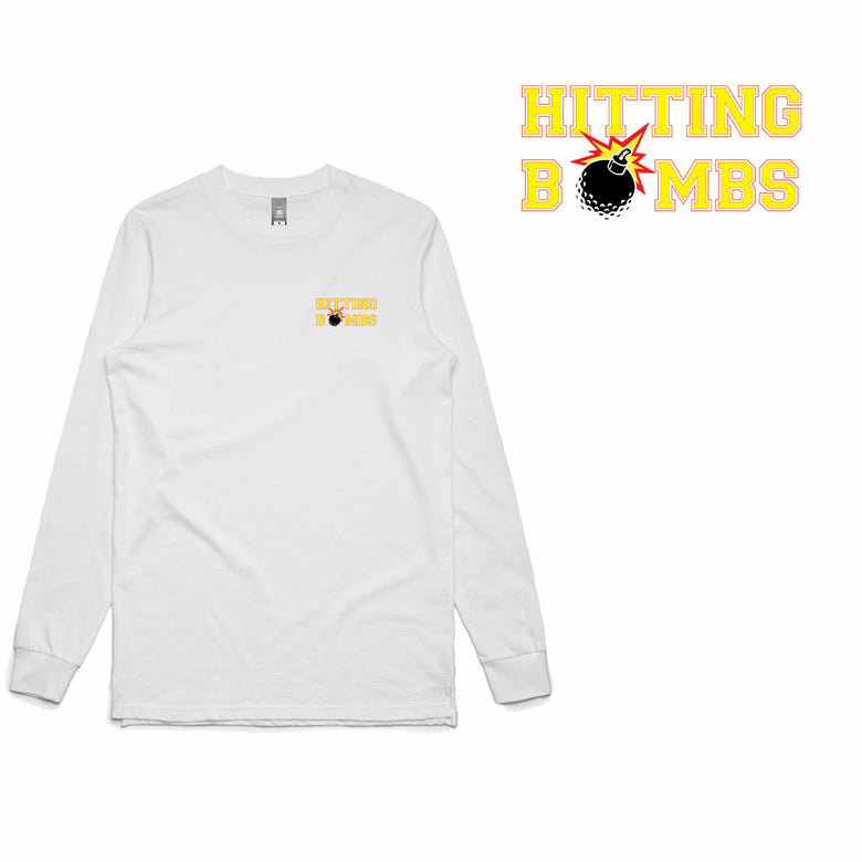 Golf Gods - Hitting Bombs Long Sleeve T-Shirt