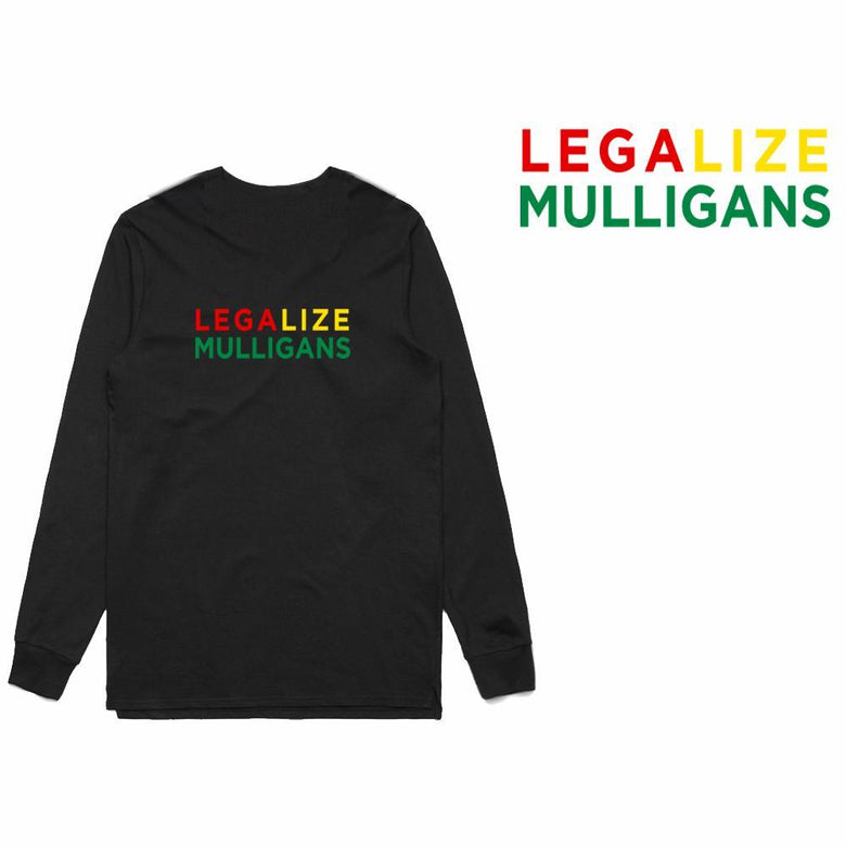 Golf Gods - Legalize Mulligans Long Sleeve T-Shirt