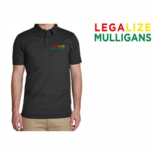 Golf Gods - Performance Polo Legalize Mulligans