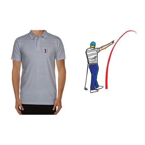 Golf Gods - Performance Polo G.O.A.T Mad Slicer