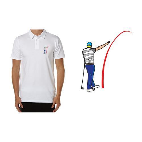 3092271061054 Golf Gods - Performance Polo G.O.A.T Mad Slicer – Golf Gods US