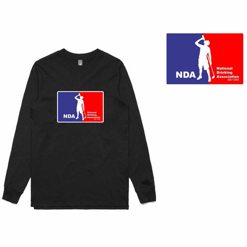 Golf Gods - National Drinking Association Long Sleeve T-Shirt