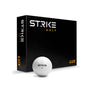 STRIKE LUX - 3 Piece Cast Urethane Golf Balls - 1 Dozen