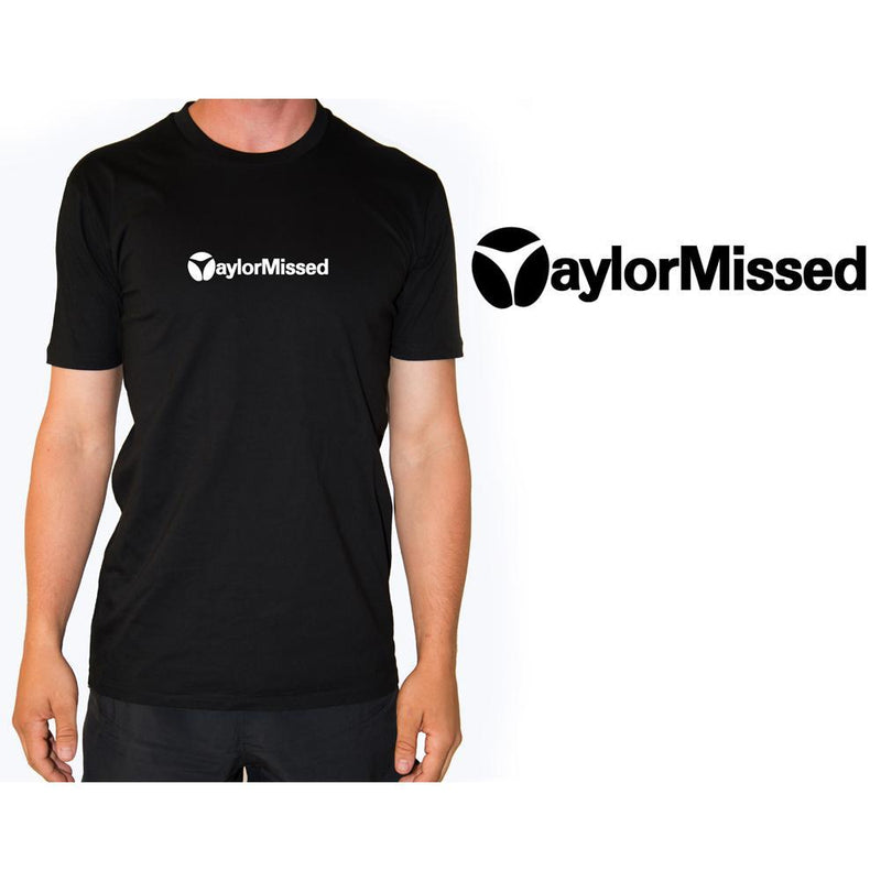 Golf Gods - TaylorMissed T-Shirt in Black