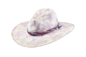 Ladies Purple Sun Hat