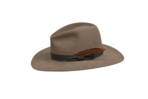 The Brook - Men's 100% Natural Beaver Fedora-Hats-TrueWestHats