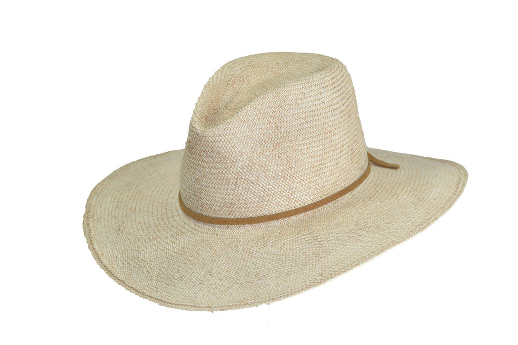 Wide Brim Straw Hat - Ray-Straw Hats-TrueWestHats