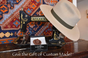 custom made hat gift certificate