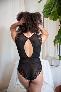 CARRIE + SAM THE CATCH BODYSUIT - Expect Lace