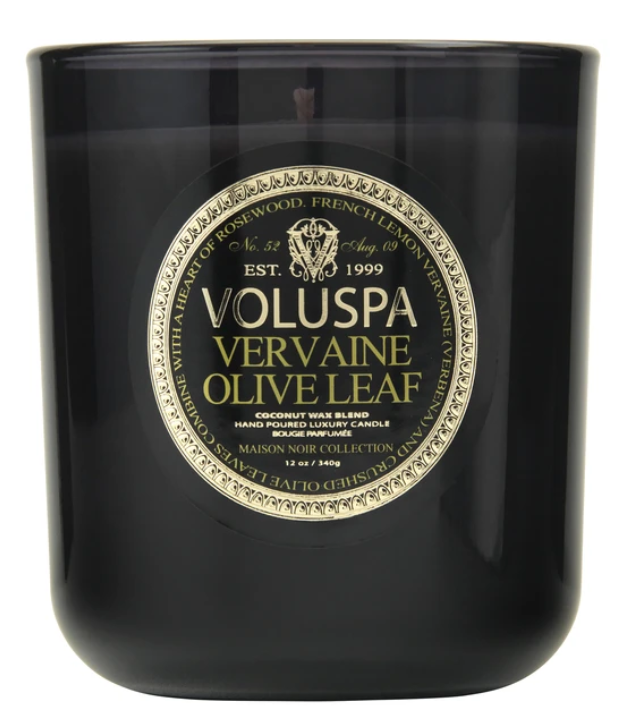 VOLUSPA VERVAINE OLIVE LEAF MAISON CANDLE