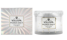 Load image into Gallery viewer, VOLUSPA BOURBON VANILLE CORTA MAISON CANDLE - Expect Lace
