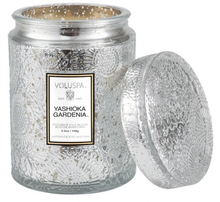 Load image into Gallery viewer, VOLUSPA YASHIOKA GARDENIA SMALL JAR CANDLE - Expect Lace