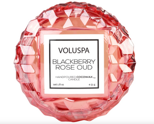 VOLUSPA BLACKBERRY ROSE OUD MACARON CANDLE
