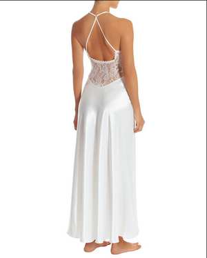IN BLOOM SUTTON LACE-BODICE GOWN