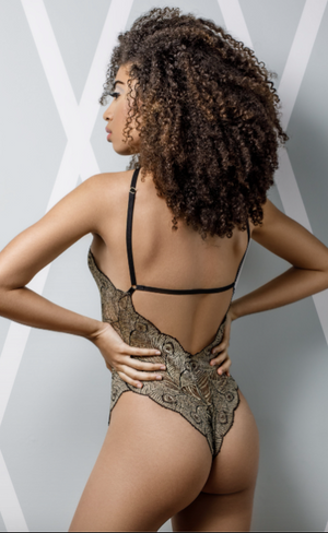 SUZY BLACK ASHLIE BODYSUIT