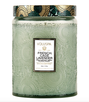 VOLUSPA FRENCH CADE LAVENDER LARGE CANDLE