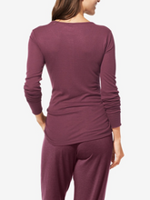 Load image into Gallery viewer, TOMMY JOHN WOMEN'S LOUNGE HENLEY