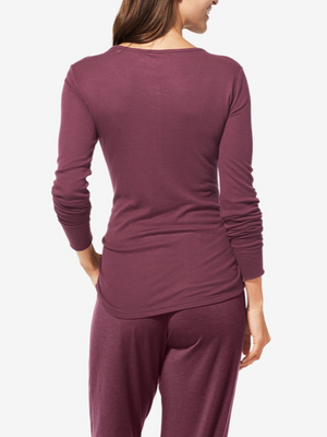 TOMMY JOHN WOMEN'S LOUNGE HENLEY