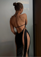 Load image into Gallery viewer, ANGELINA SATIN DRESS