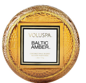 VOLUSPA BALTIC AMBER MACARON CANDLE - Expect Lace