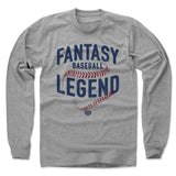 Top Fantasy Baseball Sellers Men's Long Sleeve T-Shirt | 500 LEVEL