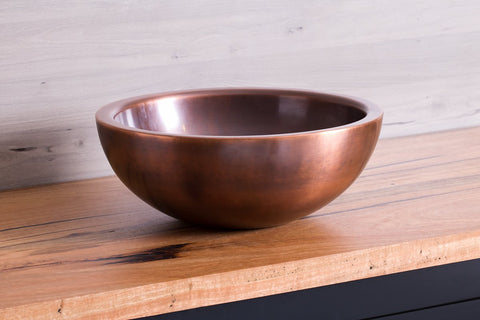 Copper Wash Bowl