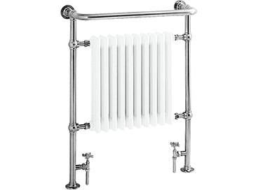 Floor Mounted Heated Towel Rack & Raditor