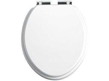 HB - Toilet Seat White / Chrome (3)