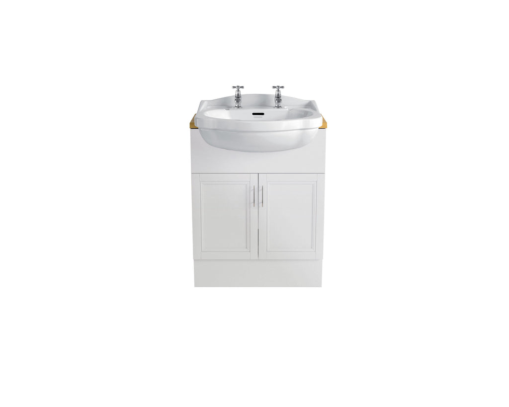 HB - Sink Vanity White Double