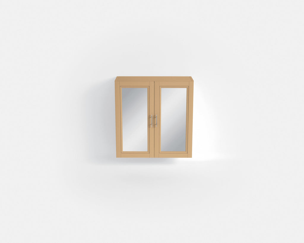 HB - Mirrored Cupboard Double Light