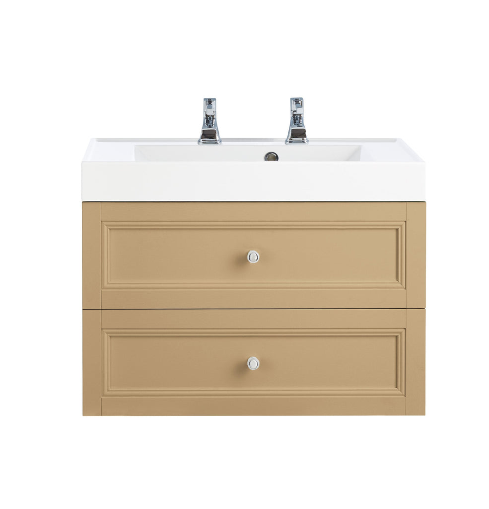 HB - Sink Vanity Double Draw Light