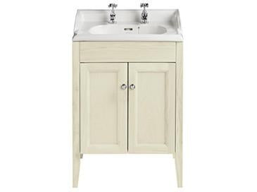 HB - Sink Vanity Double Cupboard Cream