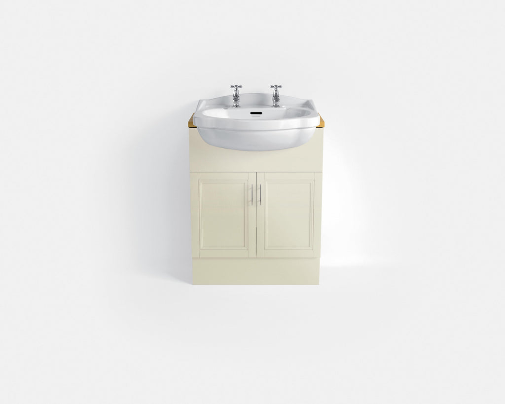 HB - Sink Vanity Double Cupboard Cream (2)