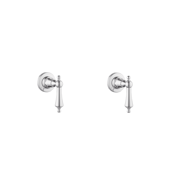Wall Taps - Cross Handles