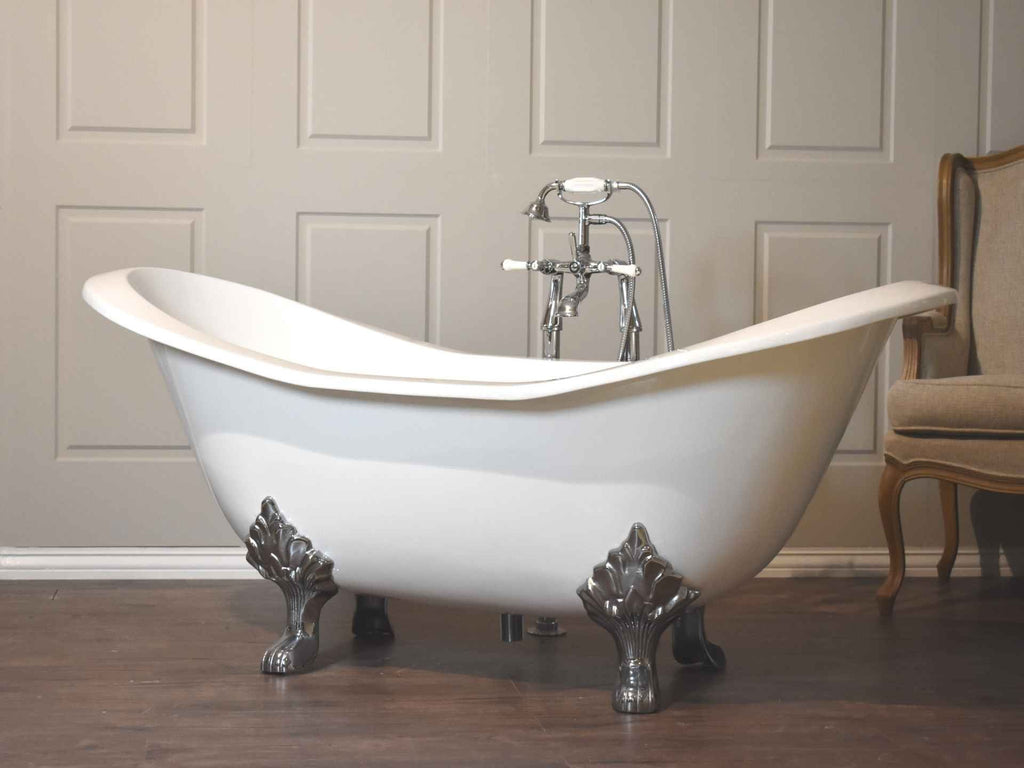 Duette  - Double Ended Cast Iron Slipper Bath