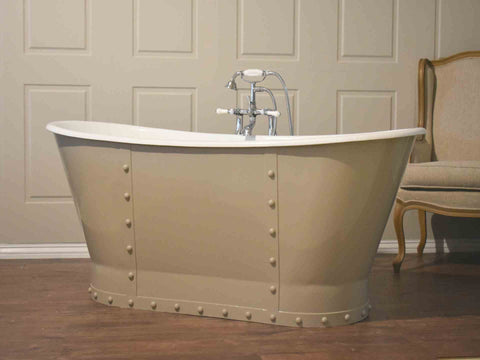 Eiffel Freestanding Cast Iron Bath