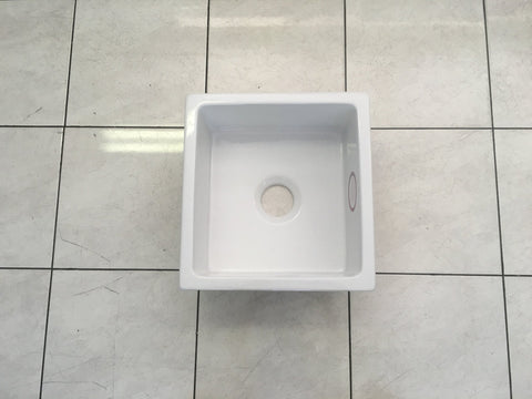 Fireclay Undermount Kitchen Sink - 595 x 455 x 200mm