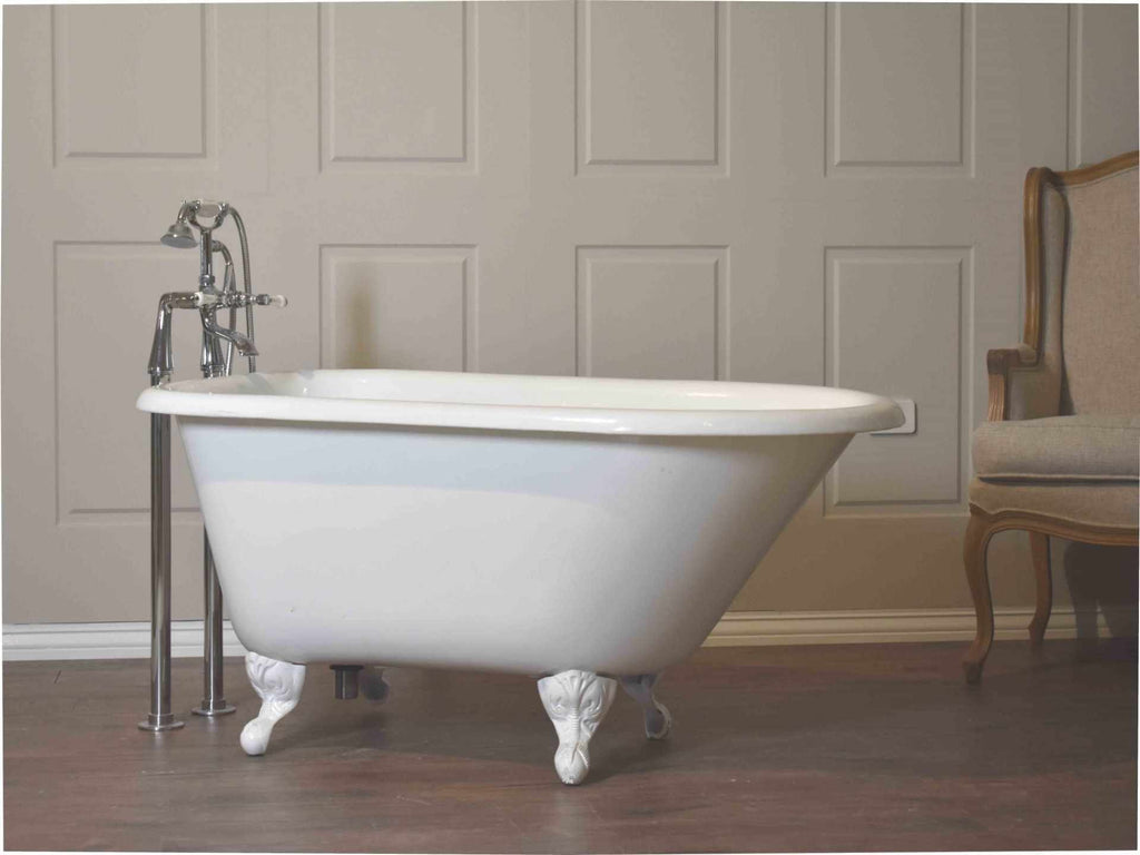 Rustic - Roll Top Cast Iron Bath