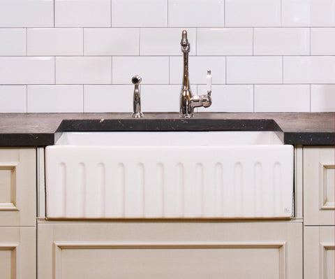 Fluted Apron Sink - 733 x 500 x 250mm