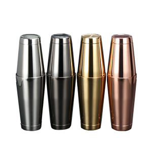 Unique Stainless Steel Shakers (18oz)
